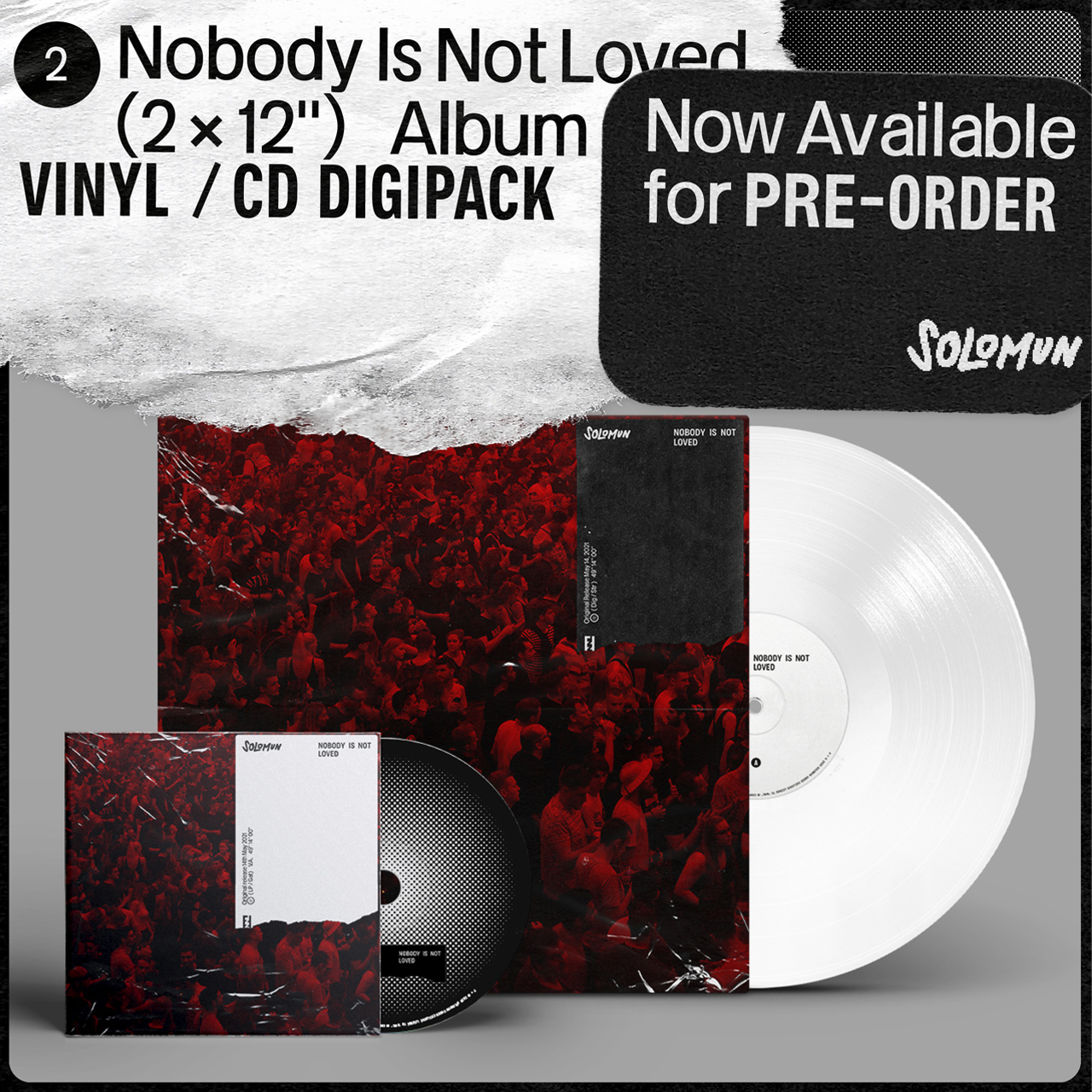 Solomun Nobody Is Not Loved (CD Digipack) OUT MAY 28TH 2021 CD PREORDER